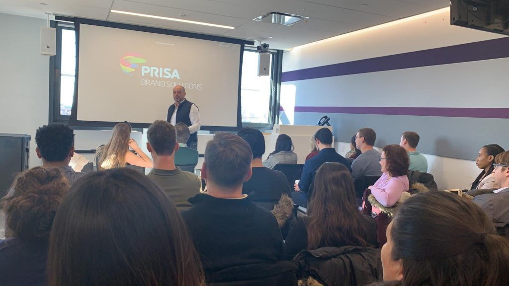 Prisa Brand Solutions Event with Google